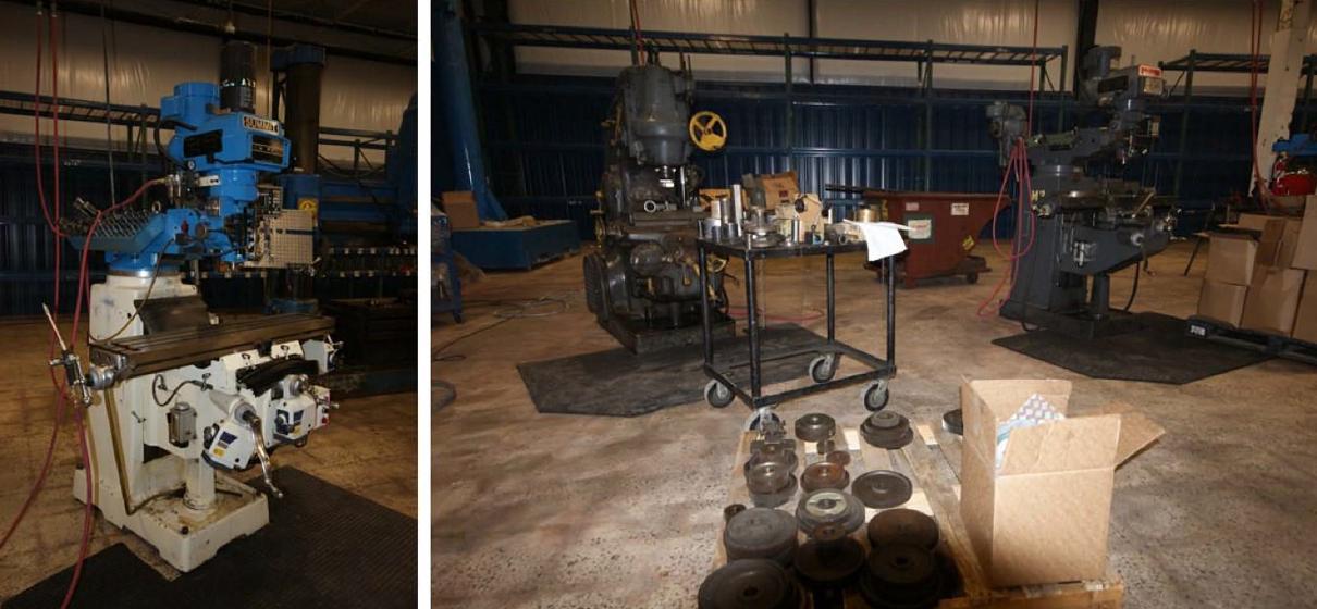 manual milling area