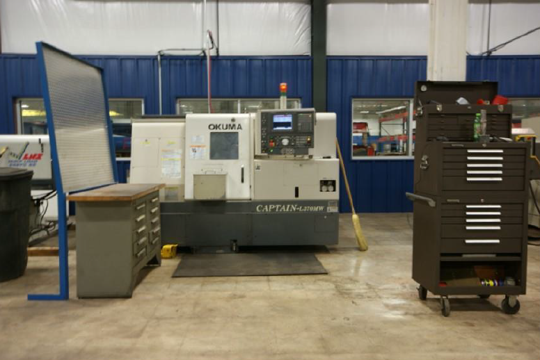 CNC Turning machine with milling