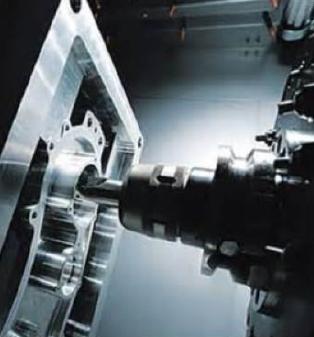 CNC Milling Machine up close